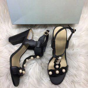 Marc Fisher Pearl Embellished Sandal 9M